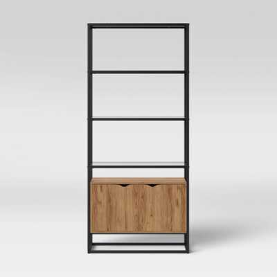 Ada Mixed Material Bookcase with Glass - Project 62 - Target