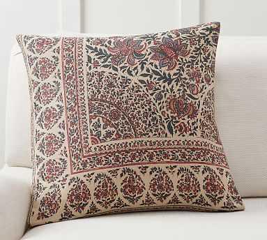 "Rawley Printed Pillow, 20"", Multi - Pottery Barn"