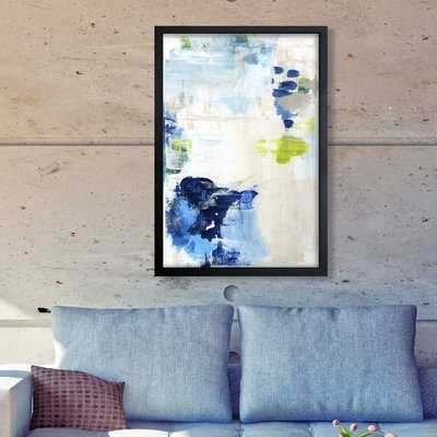 Perks Abstract - Picture Frame Print on Canvas - AllModern