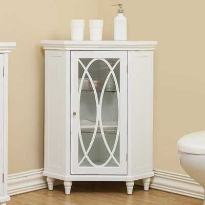 Kayla Corner Floor Cabinet - Wayfair
