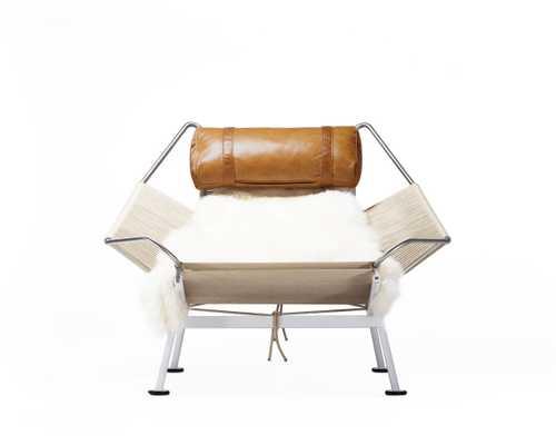 Flag Halyard Chair - Palermo Caramel White - Rove Concepts