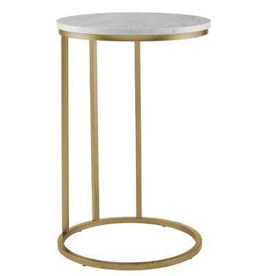 Maeve Round End Table - Wayfair