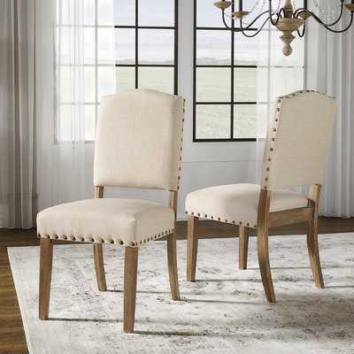 Alpert Upholstered Dining Chair-Set of 2 - Birch Lane