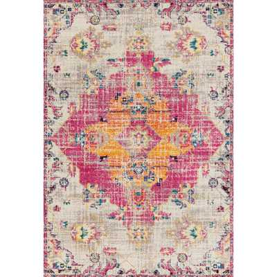 Abigail Seraphina Magenta (Pink) 5 ft. x 7 ft. Area Rug - Home Depot