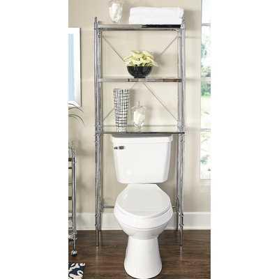 "Westra 25.98"" W x 65.94"" H Over the Toilet Storage - Wayfair"