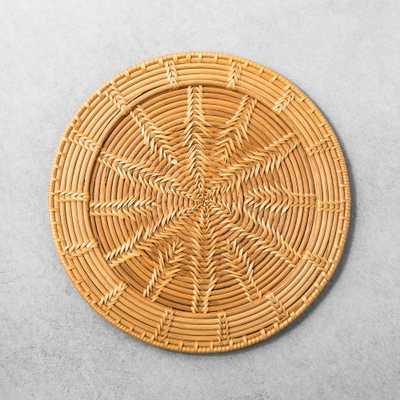 Rattan Decorative Tray - Hearth & Hand with Magnolia - Target