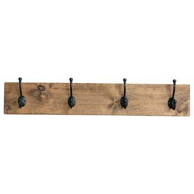 Gosnold Hook Board Wall Mounted Coat Rack - Birch Lane