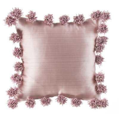 Robb Pink Throw Pillow - Wayfair