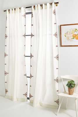Embroidered Isabella Curtain - Anthropologie