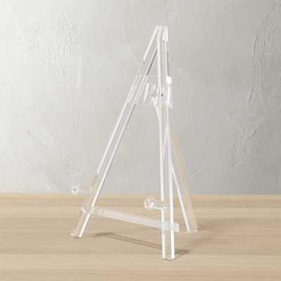 acrylic baby easel - CB2