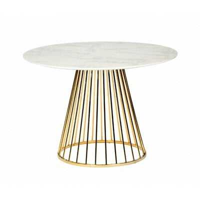 Alemany Marble Dining Table - Wayfair