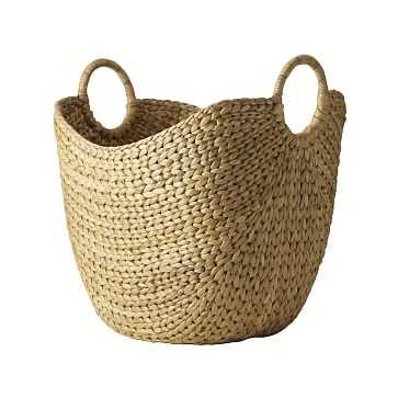 "Curved Basket, Large, Natural - 19""H - West Elm"
