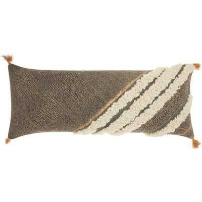 Adali Rectangular Cotton Lumbar Pillow - AllModern