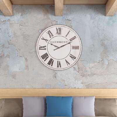 """Elianna 30"""" Wall Clock - Wayfair"""