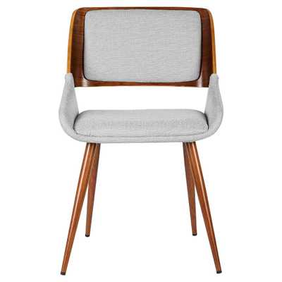 Panda Mid - Century Dining Chair - Gray - Armen Living - Target