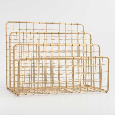 Gold Wire Antonia File Holder by World Market - World Market/Cost Plus