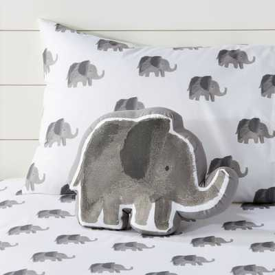 Elephant Throw Pillow - Crate and Barrel