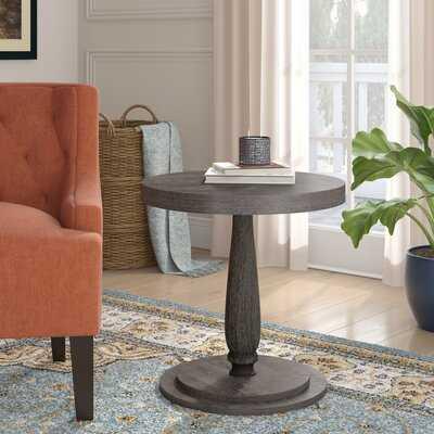 Keim Circular End Table - Wayfair