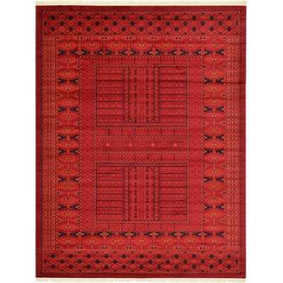 Ivette Red Southwestern Area Rug - Wayfair