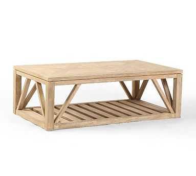 Montauk Rectangular Coffee Table - Pottery Barn