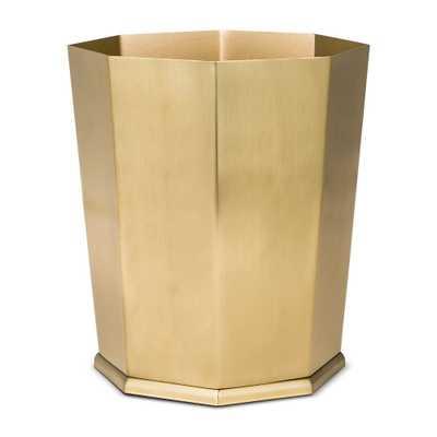 Bathroom Wastebasket Gold - Threshold - Target
