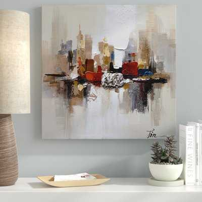 City Ruins-2' Oil Painting Print on Wrapped Canvas - Wayfair