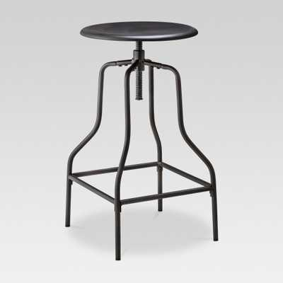 Industrial Swivel Barstool - Black - Threshold - Target