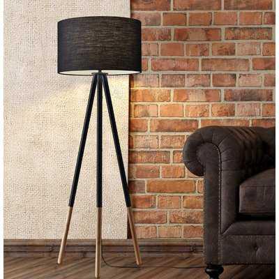 "Eckert 60.25"" Tripod Floor Lamp - AllModern"