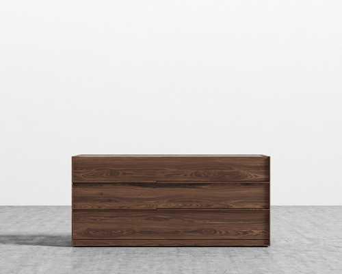 Hunter Wide Dresser - Walnut Veneer - Rove Concepts