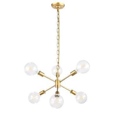 Velva 6-Light Sputnik Chandelier - Wayfair