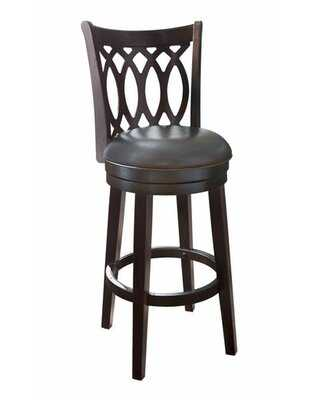 "30"" Swivel Bar Stool with Cushion - Wayfair"