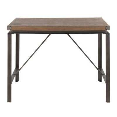 Boles Industrial Counter Height Table - Wayfair