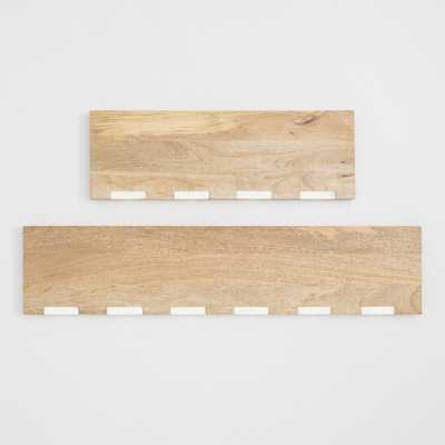 "Wood and Marble Inlay Mix & Match Wall Shelves - 36"" by World Market 36"" - World Market/Cost Plus"