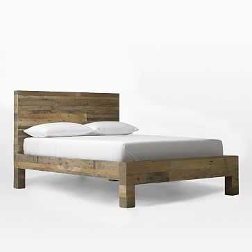 Emmerson Bed, Queen, Reclaimed Pine - West Elm