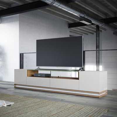 """Lasker 85"""" TV Stand - Wayfair"""
