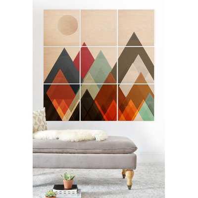 'Pepper Moon' Graphic Art Print Multi-Piece Image on Wood - Wayfair