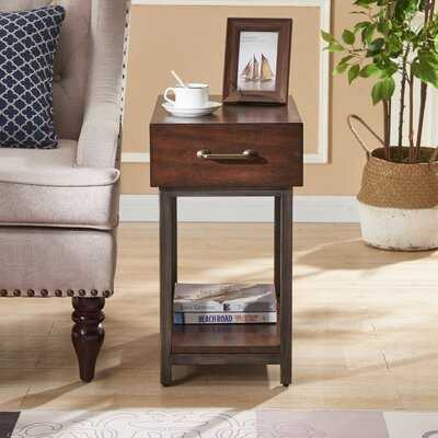Ryan End Table with Storage - Wayfair