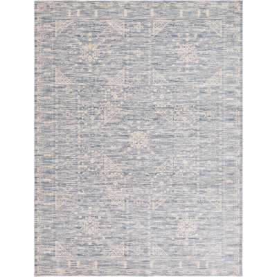 Kensington Blue 9 ft. x 12 ft. Area Rug - Home Depot