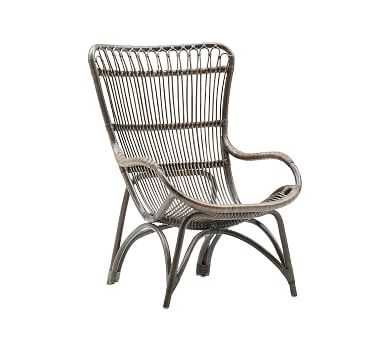 Sika Design Monet Rattan Chair, Taupe - Pottery Barn
