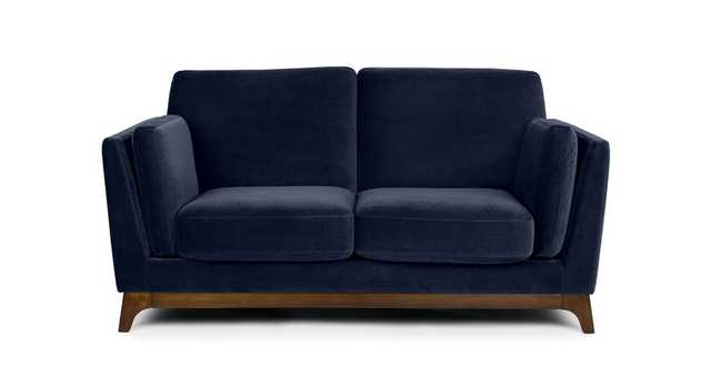 Ceni Maren Blue Loveseat - Article