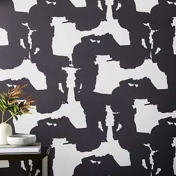 Drop It Modern Abstract Wallpaper - West Elm