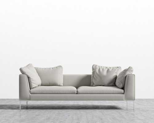 Hugo Sofa - Oyster Chrome - Hugo - Rove Concepts