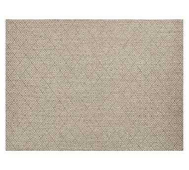 Kara Custom Sisal Rug, 12x10', Cardamom - Pottery Barn