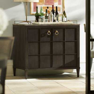 Garton Bar Cabinet - Wayfair