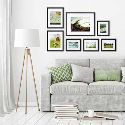 Pinnacle Gallery Perfect Black Picture Frame (Set of 7) - Home Depot