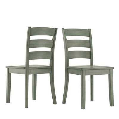 Alverson Solid Wood Dining Chair (Set of 2) - Birch Lane