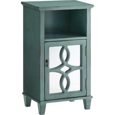 Maisie End Table With Storage - Wayfair