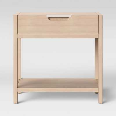 Porto Nightstand with Drawer Bleached Wood - Project 62 - Target