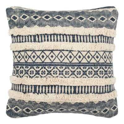 Shrum Cotton Ikat Throw Pillow - AllModern
