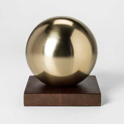 Decorative Ball Sculpture - Gold - Project 62 - Target